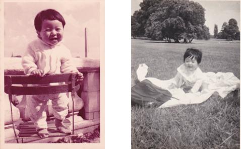 富田博秋子供時代
